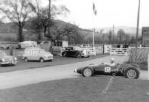 BRM P48 Ray Fielding Prescott Hillclimb 1963. amateur photo